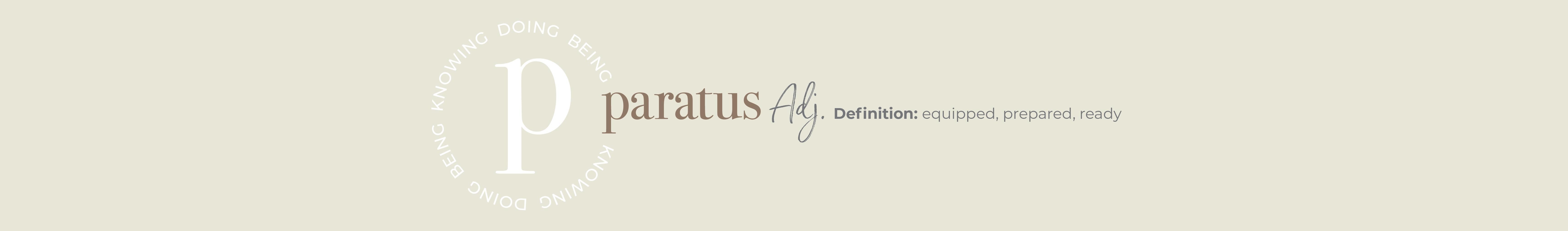 Paratus logo and definition.