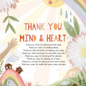 Thank You, Mind & Heart